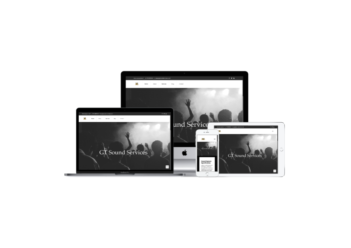 GT Sound Services Website