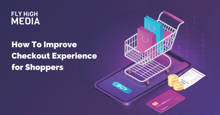How To Improve Checkout Experience For Shoppers with shopping cart image
